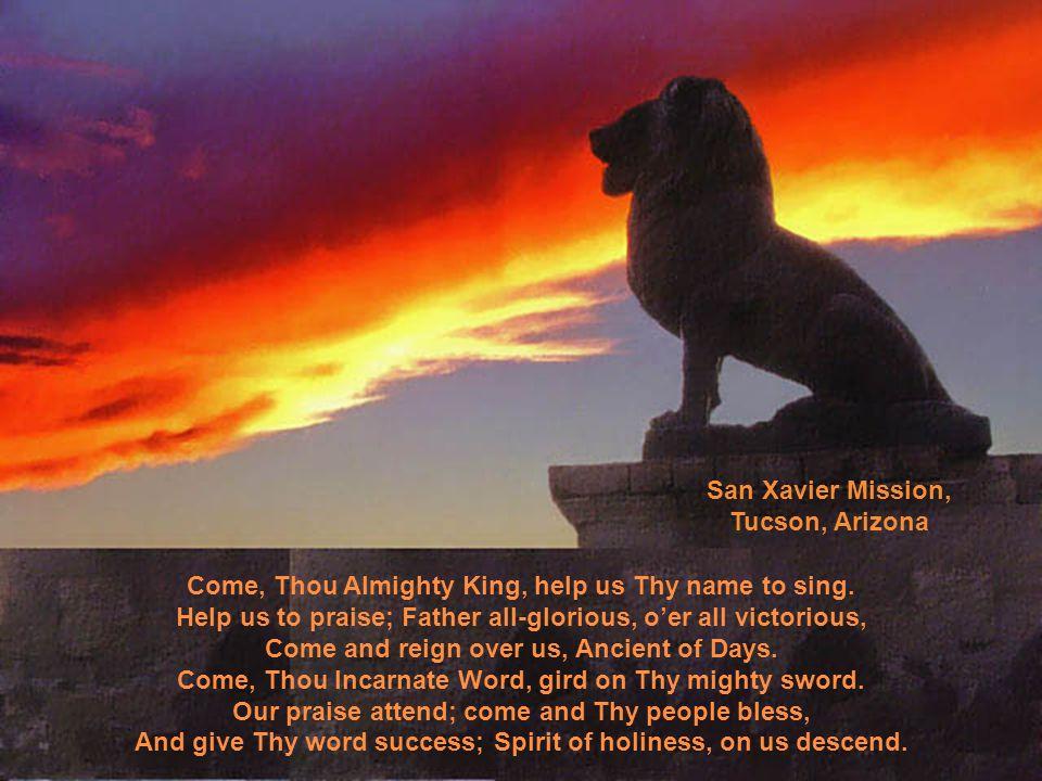 O hope of every contrite heart, O joy of all the meek, To those who fall, how kind Thou art.