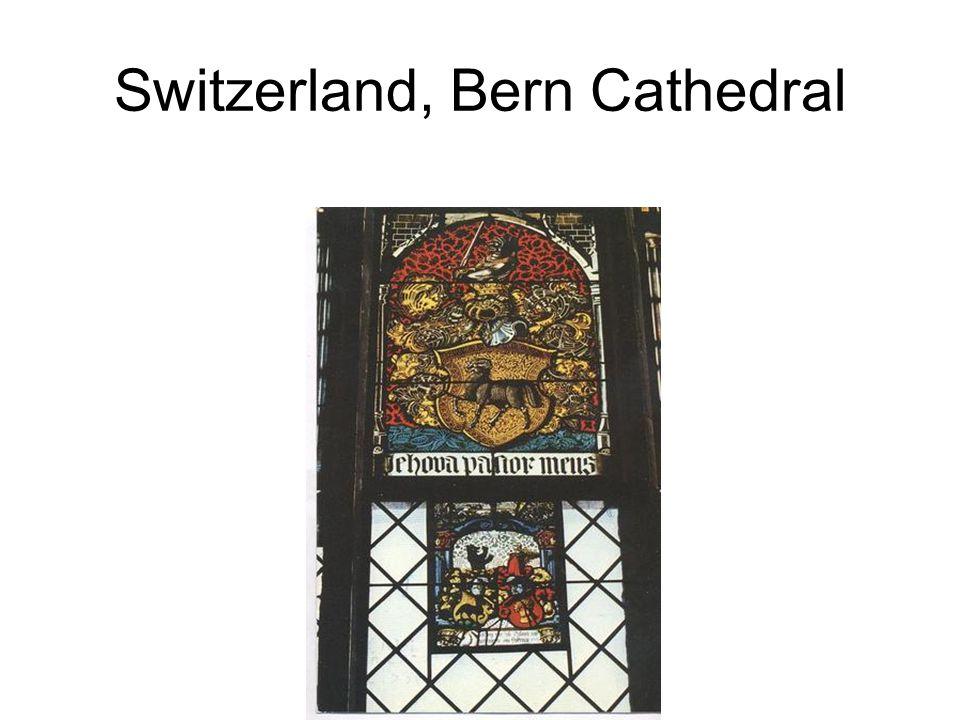 Switzerland, Bern Cathedral