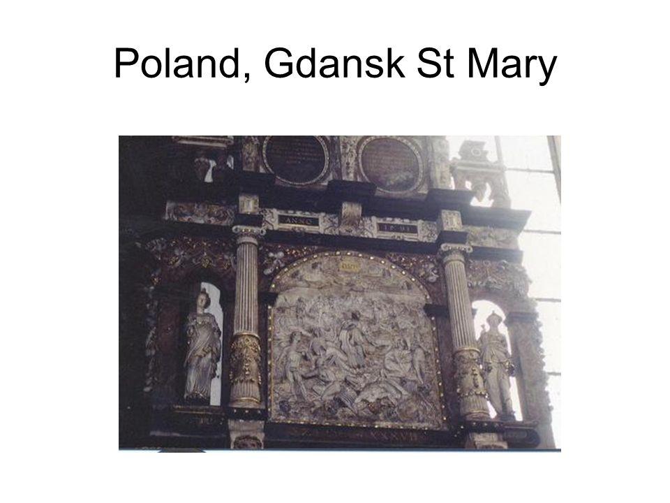 Poland, Gdansk St Mary