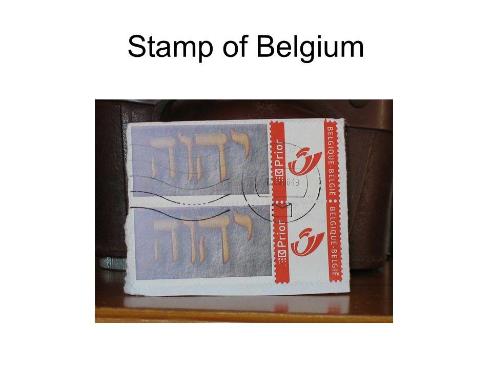 Stamp of Belgium