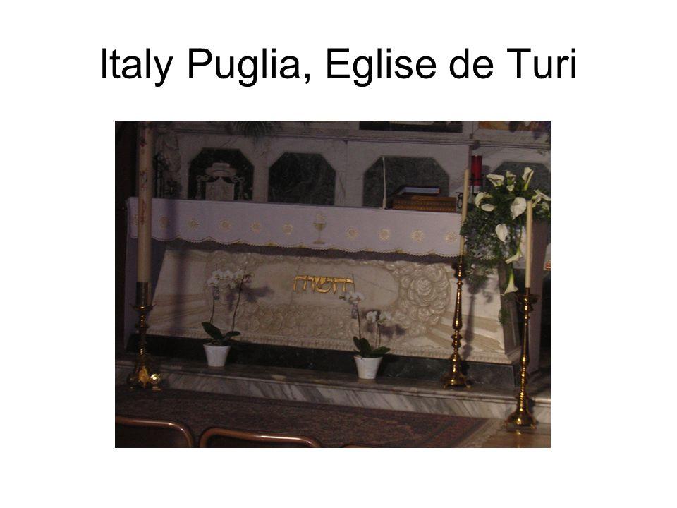Italy Puglia, Eglise de Turi
