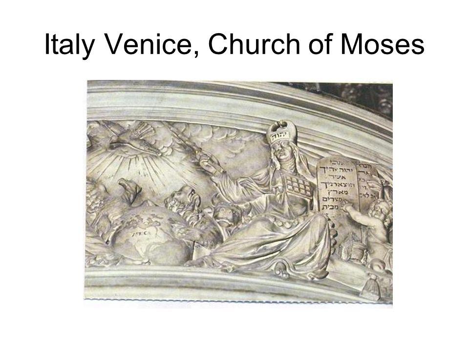 Italy Venice, Church of Moses