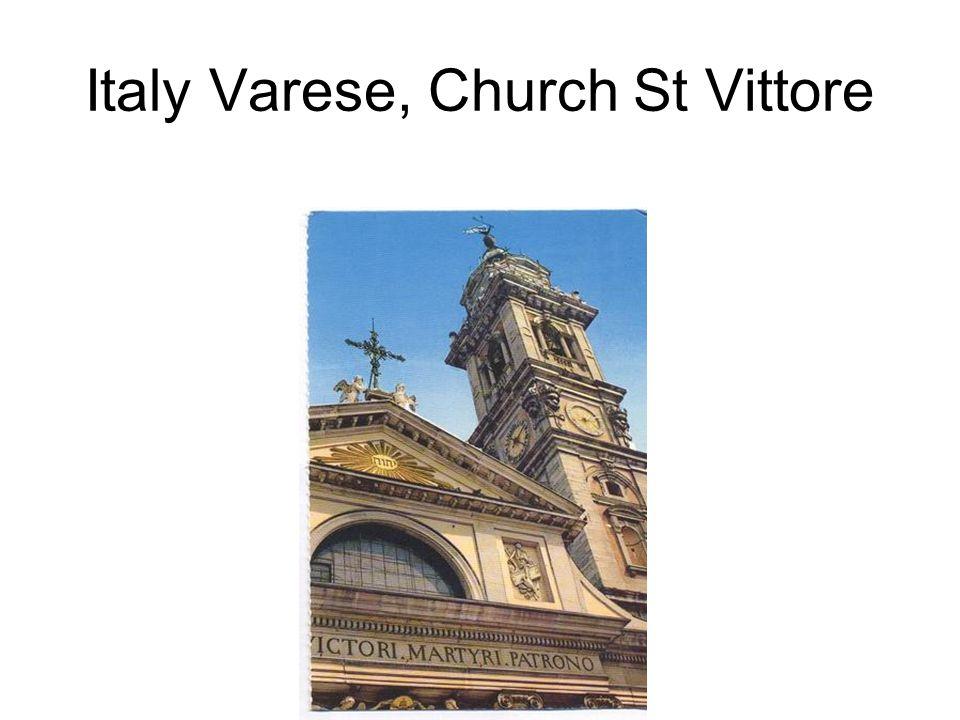 Italy Varese, Church St Vittore