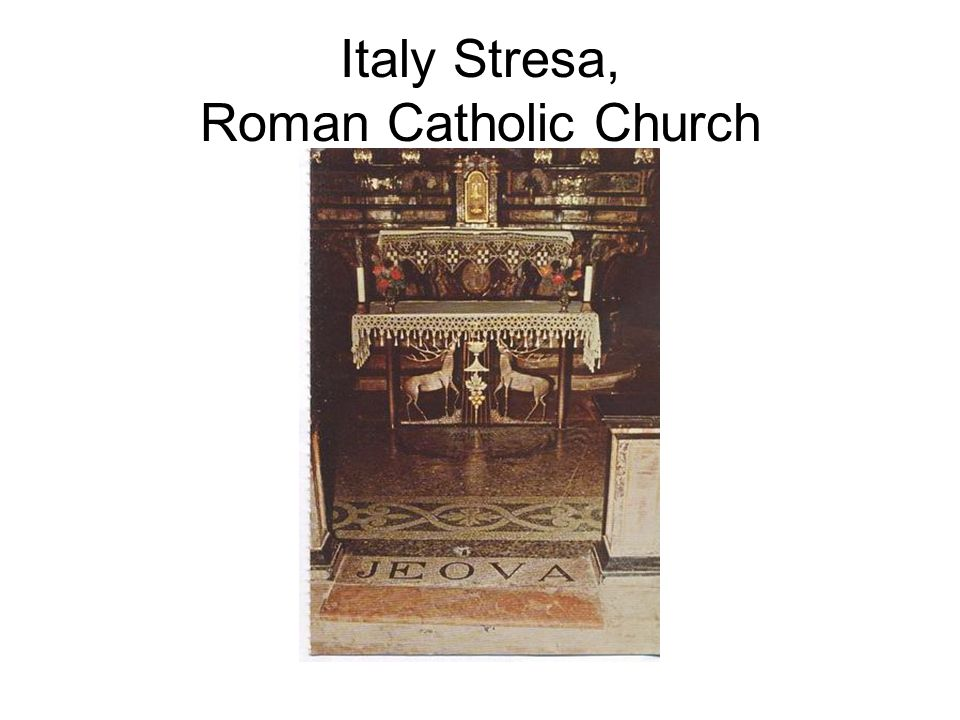 Italy Stresa, Roman Catholic Church