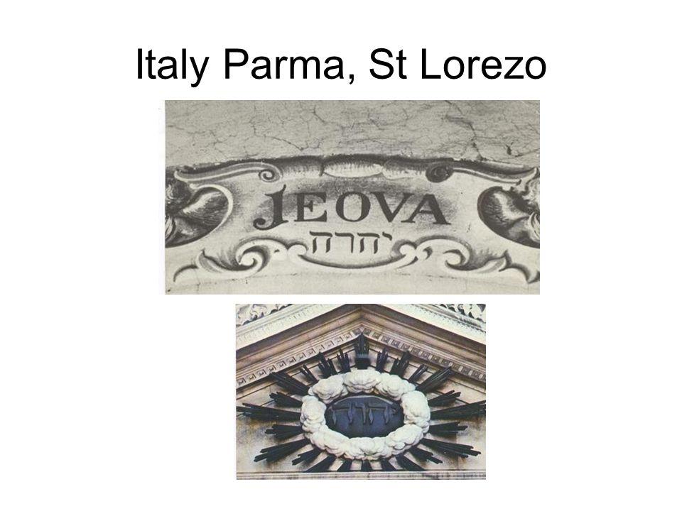 Italy Parma, St Lorezo
