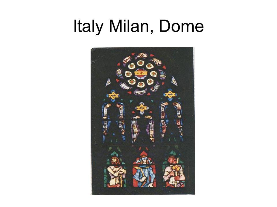 Italy Milan, Dome