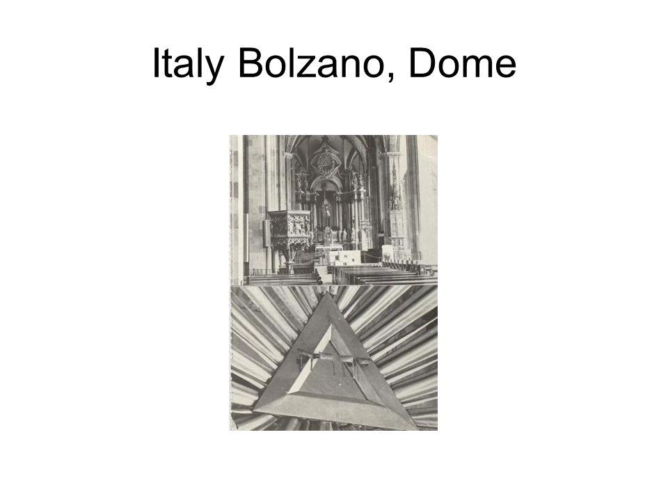 Italy Bolzano, Dome