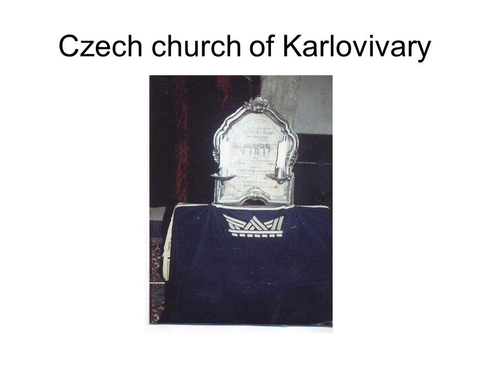Czech church of Karlovivary
