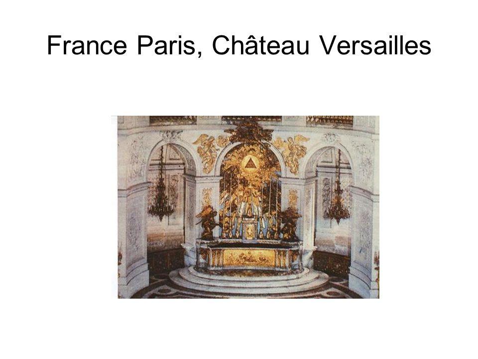 France Paris, Château Versailles