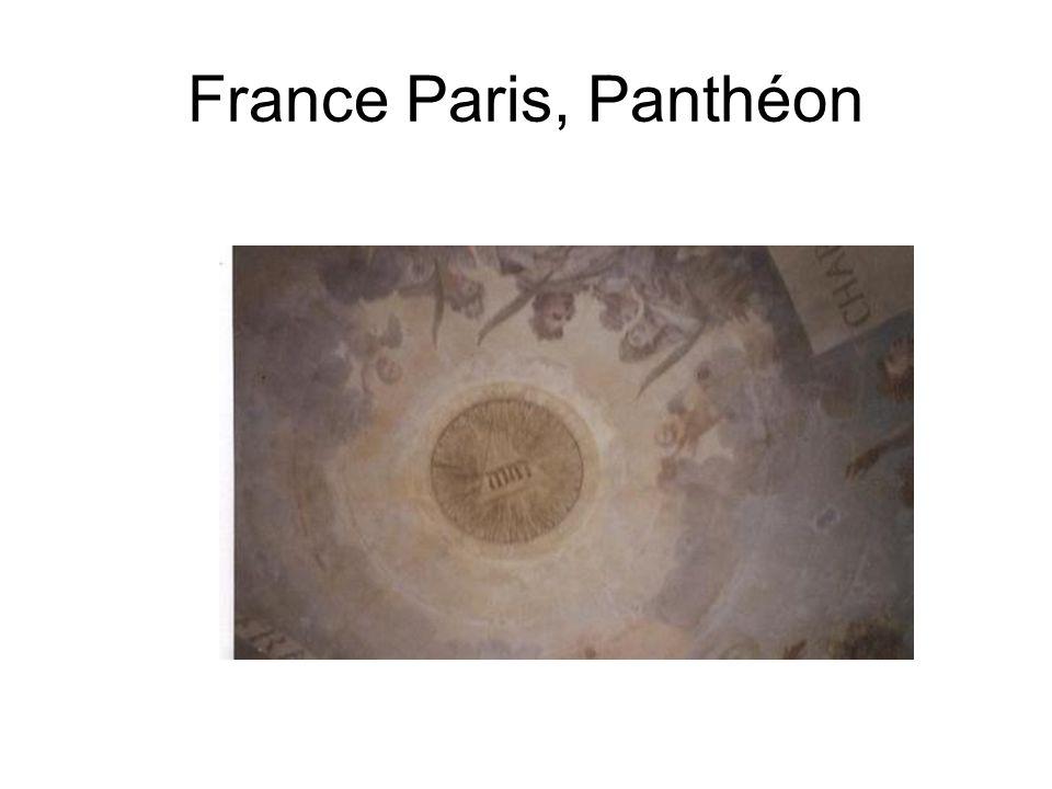 France Paris, Panthéon
