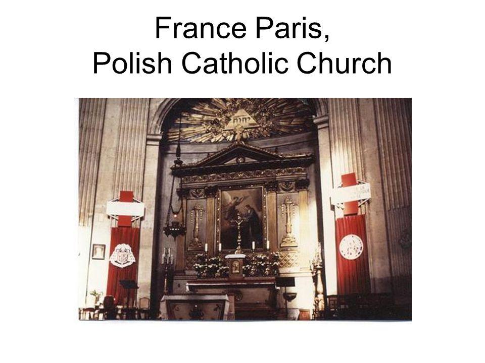 France Paris, Polish Catholic Church