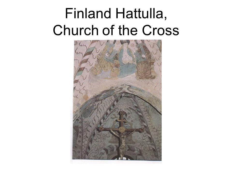 Finland Hattulla, Church of the Cross