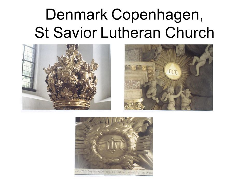 Denmark Copenhagen, St Savior Lutheran Church