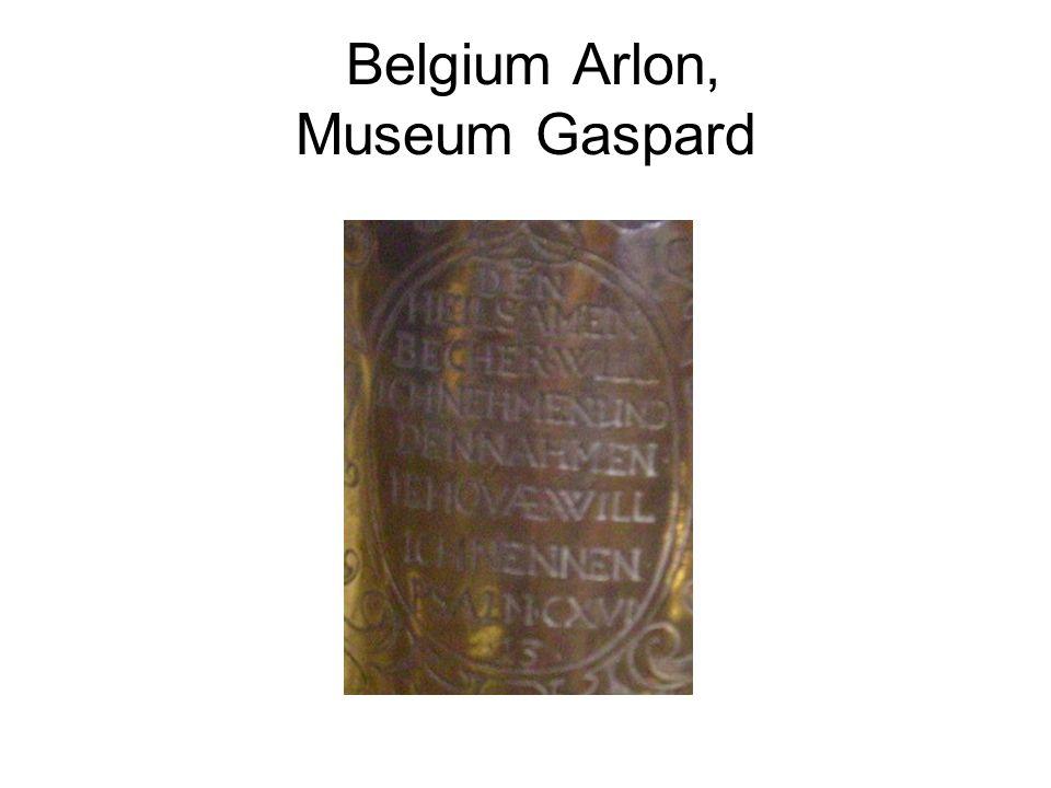 Belgium Arlon, Museum Gaspard