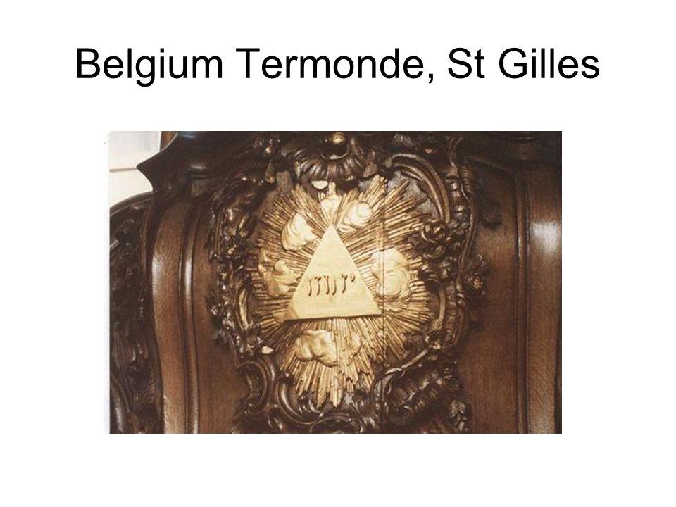 Belgium Termonde, St Gilles