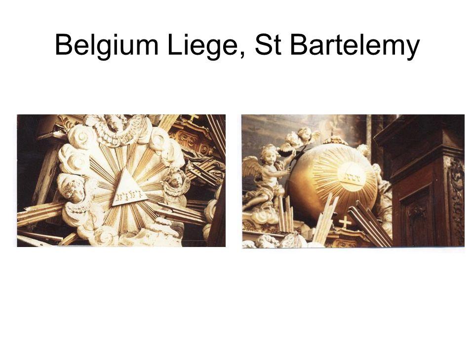 Belgium Liege, St Bartelemy