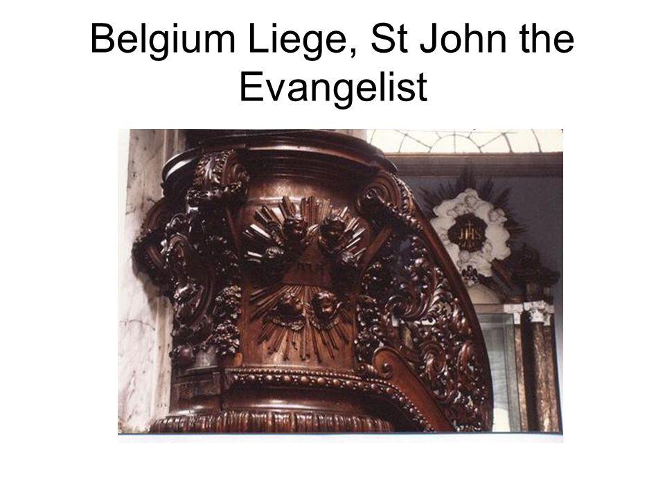 Belgium Liege, St John the Evangelist