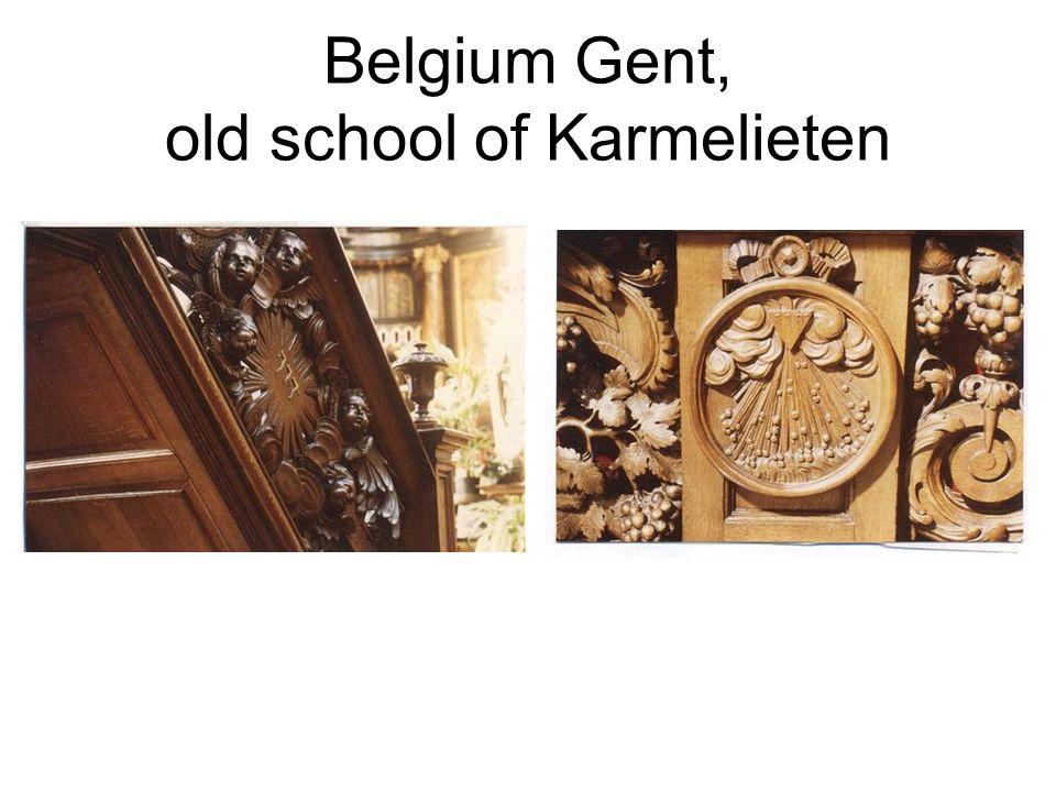 Belgium Gent, old school of Karmelieten