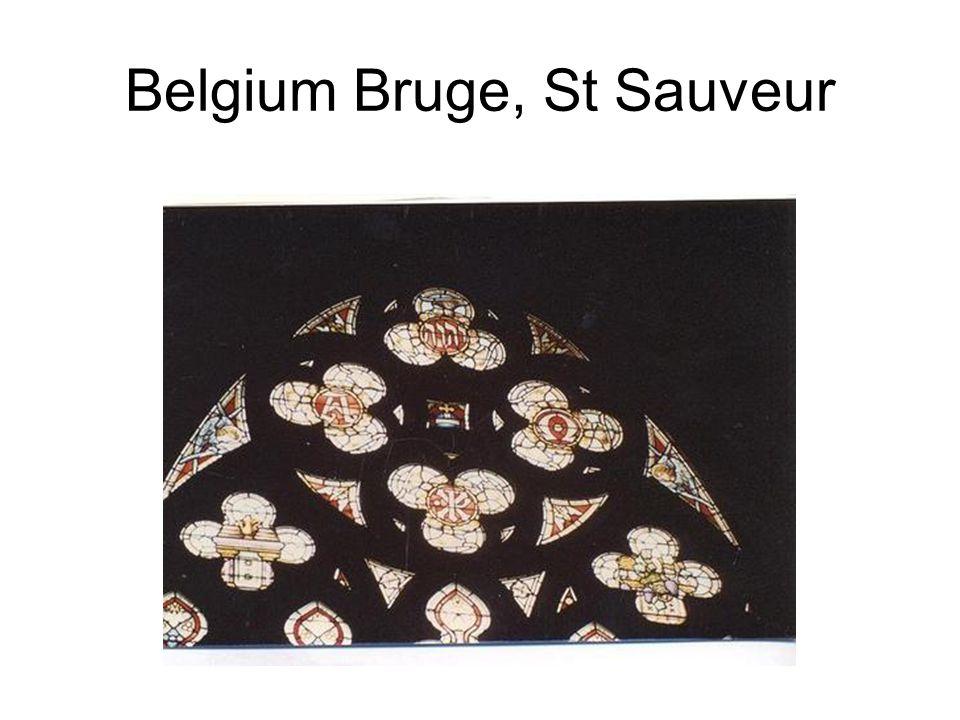 Belgium Bruge, St Sauveur