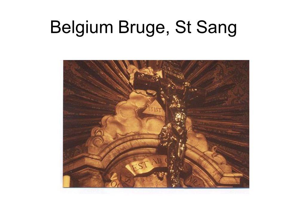 Belgium Bruge, St Sang