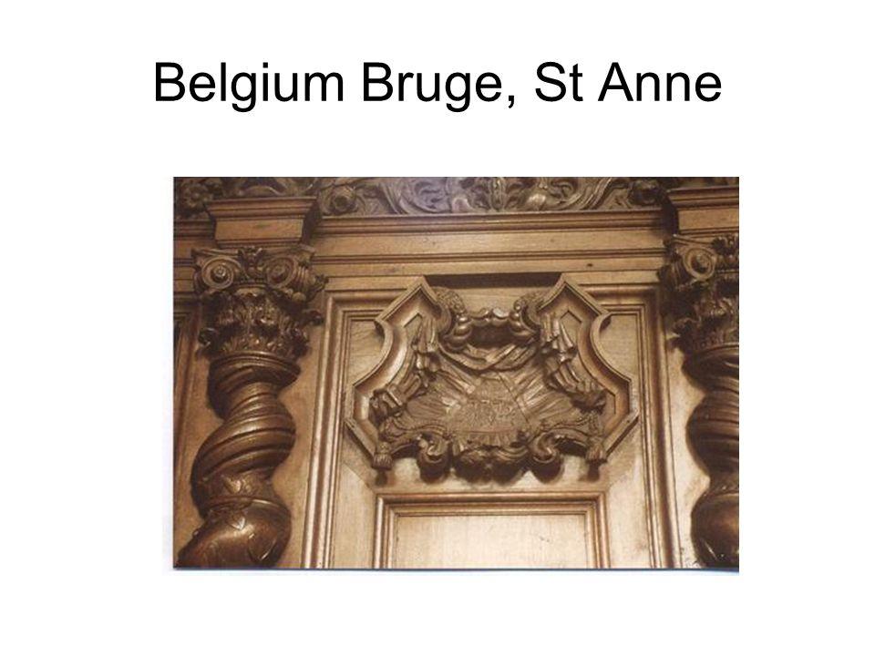 Belgium Bruge, St Anne