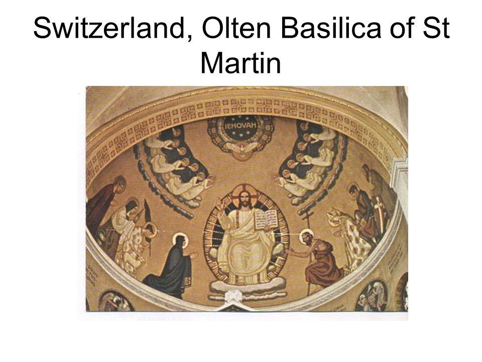 Switzerland, Olten Basilica of St Martin