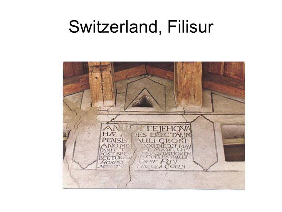 Switzerland, Filisur