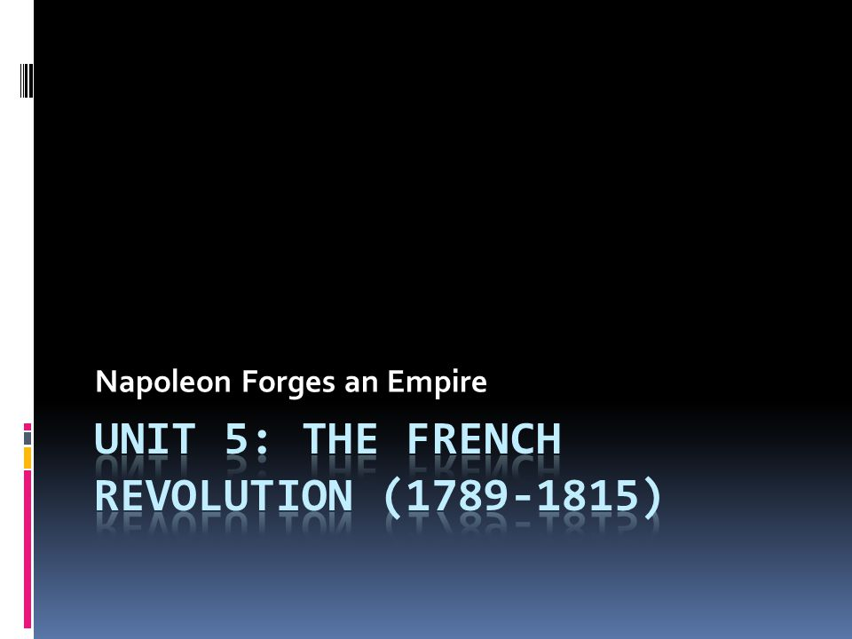 Napoleon Bonaparte (1769-1821)  Born on island of Corsica  Military School at 9 yrs.