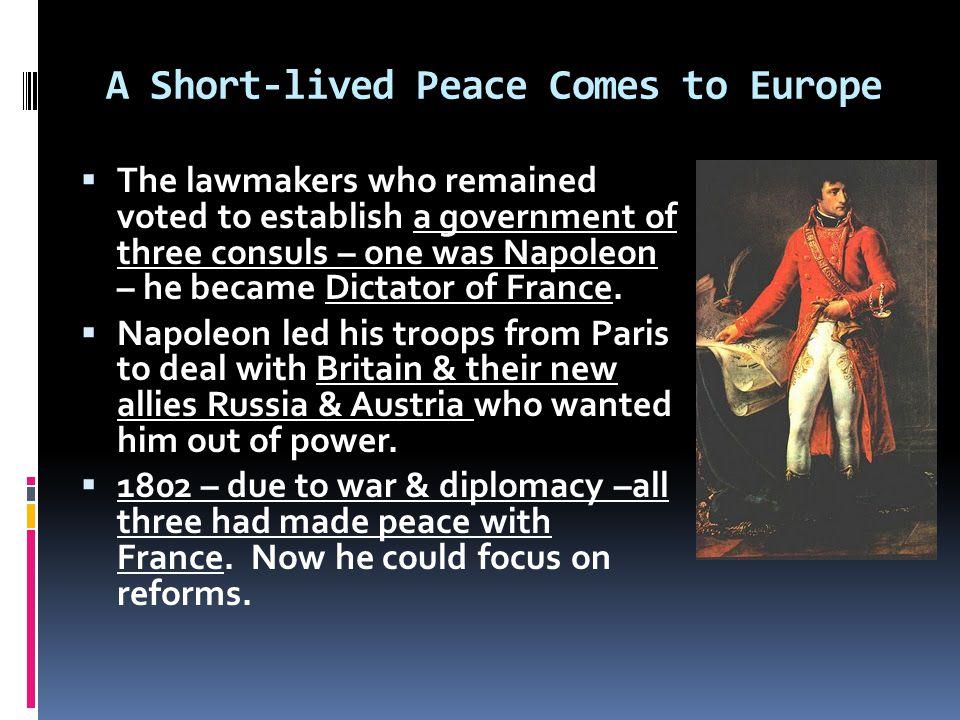 Exit Slip – Napoleon Seizes Power 1.