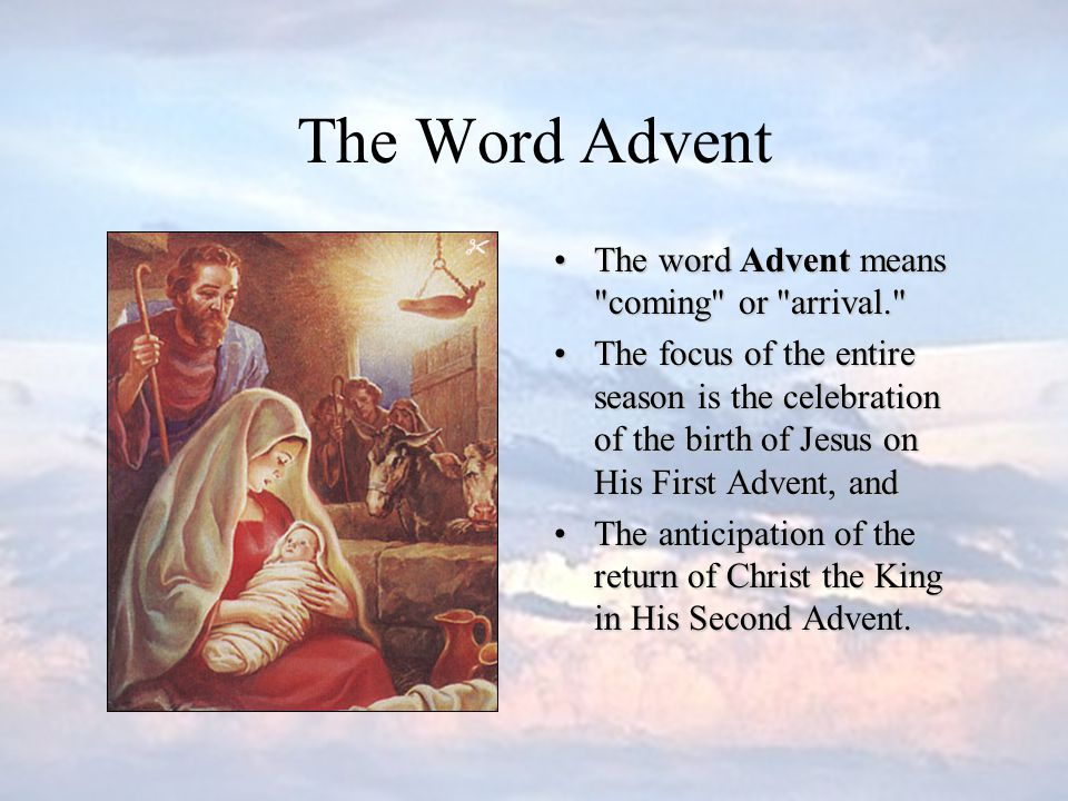 How Do We Know When Advent Begins There are two answers.There are two answers.