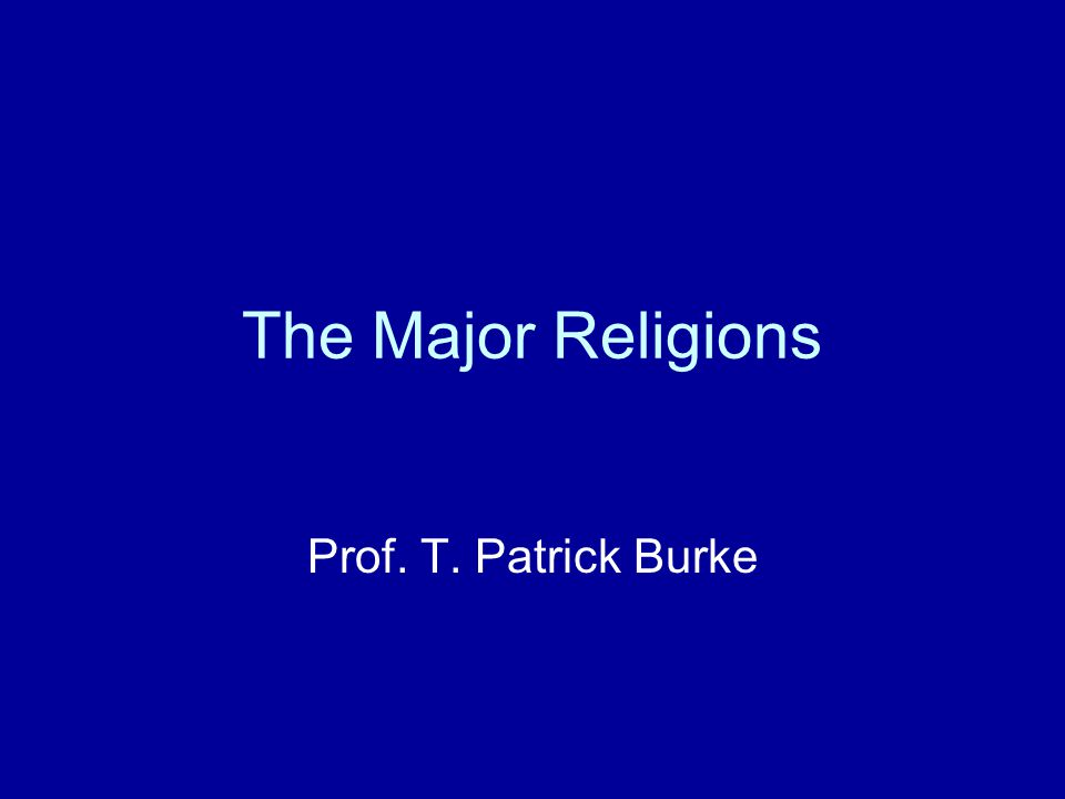 Introduction Seriousness and Frivolity The Significance of Religion.