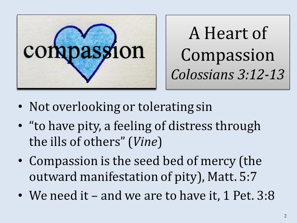 3 The Compassion of a Shepherd Isa.40:11; Ezek. 34:15-16 (Matt.