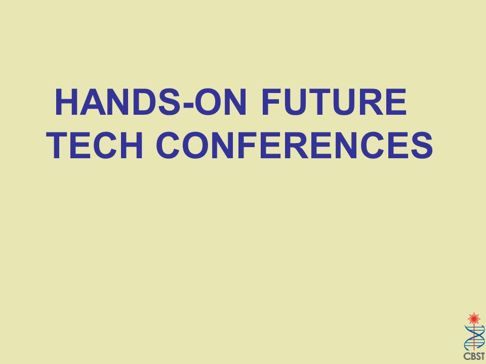 HANDS-ON FUTURE TECH CONFERENCES