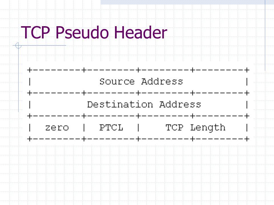 TCP Pseudo Header