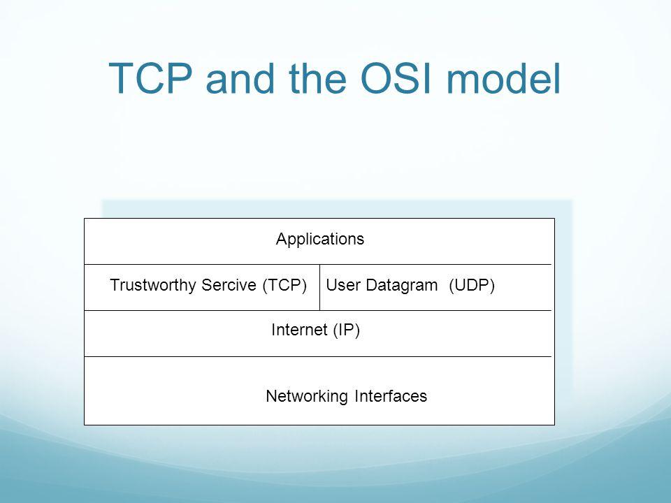 TCP: Properties Caracter flow based.Virtual Circuits.