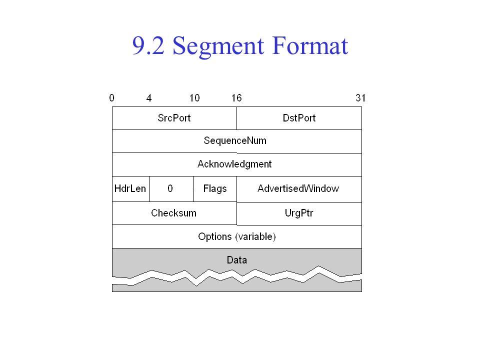 9.2 Segment Format