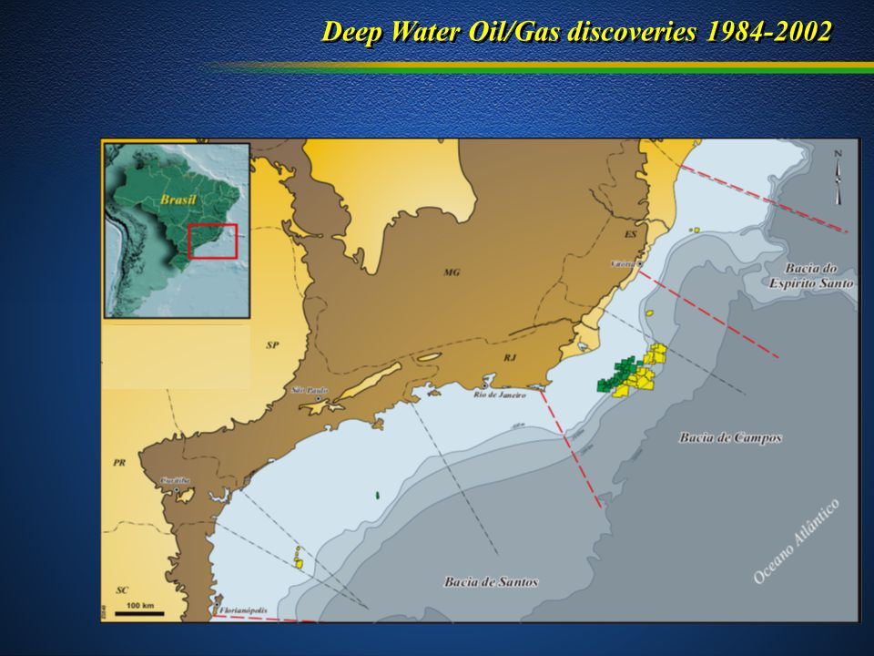 Deep Water Oil/Gas discoveries 1984-2002
