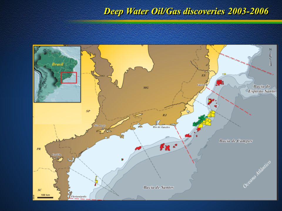 Deep Water Oil/Gas discoveries 2003-2006