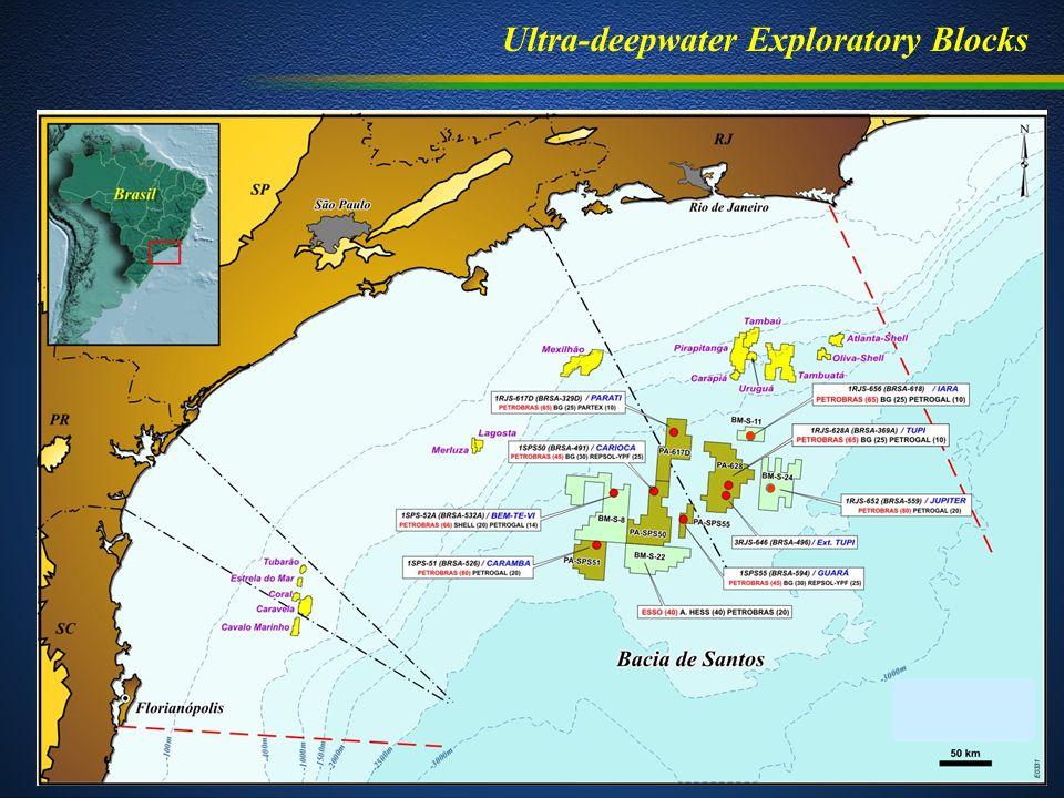 Ultra-deepwater Exploratory Blocks