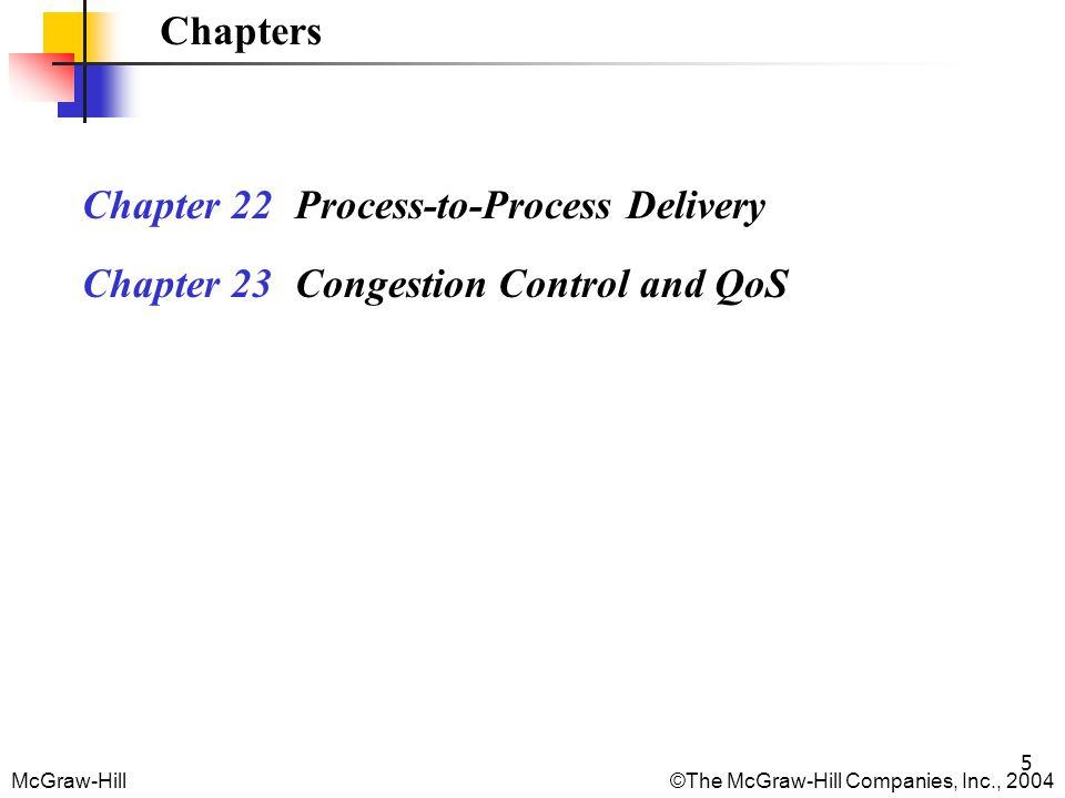 McGraw-Hill©The McGraw-Hill Companies, Inc., 2004 16 Connection Establishment 1.
