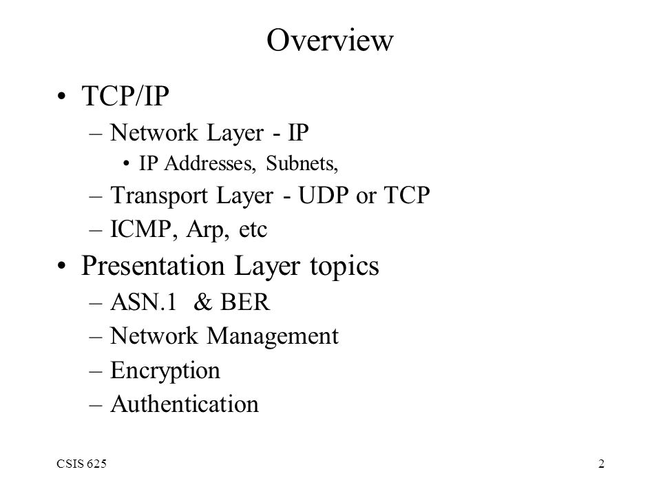 CSIS 62533 Public Key Encryption types RSA - Ron Rivest, Adi Shamir, and Leonard Adleman.
