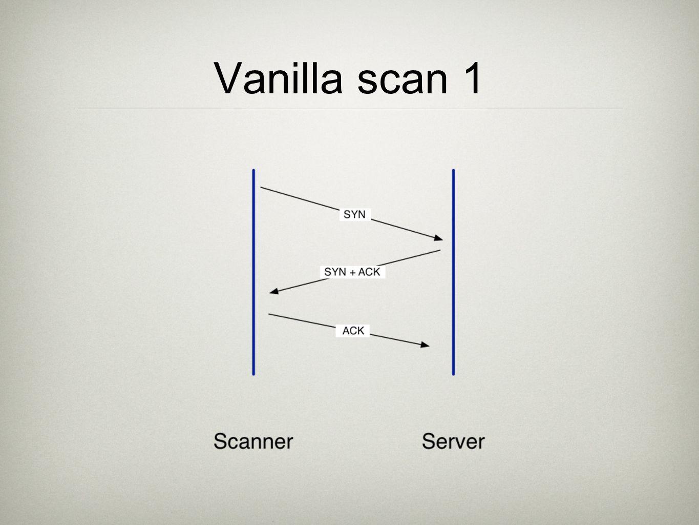 Vanilla scan 1