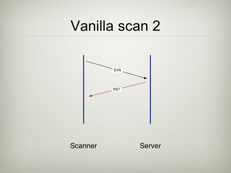 Vanilla scan 2