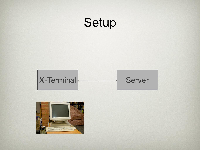 Setup X-TerminalServer