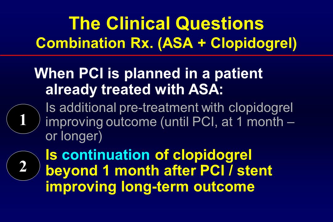 The Clinical Questions Combination Rx.