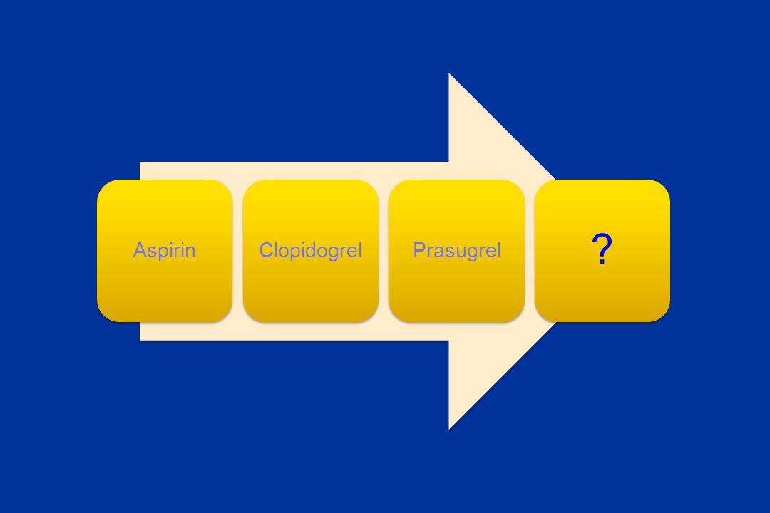 AspirinClopidogrelPrasugrel ?