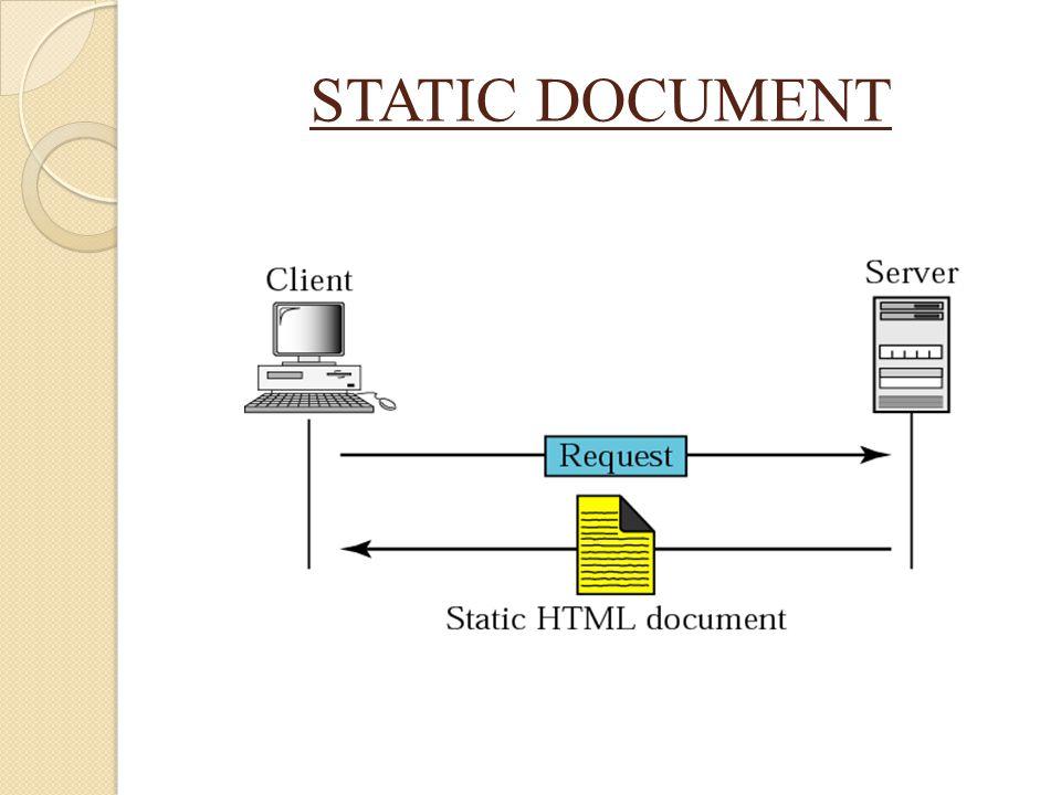 STATIC DOCUMENT