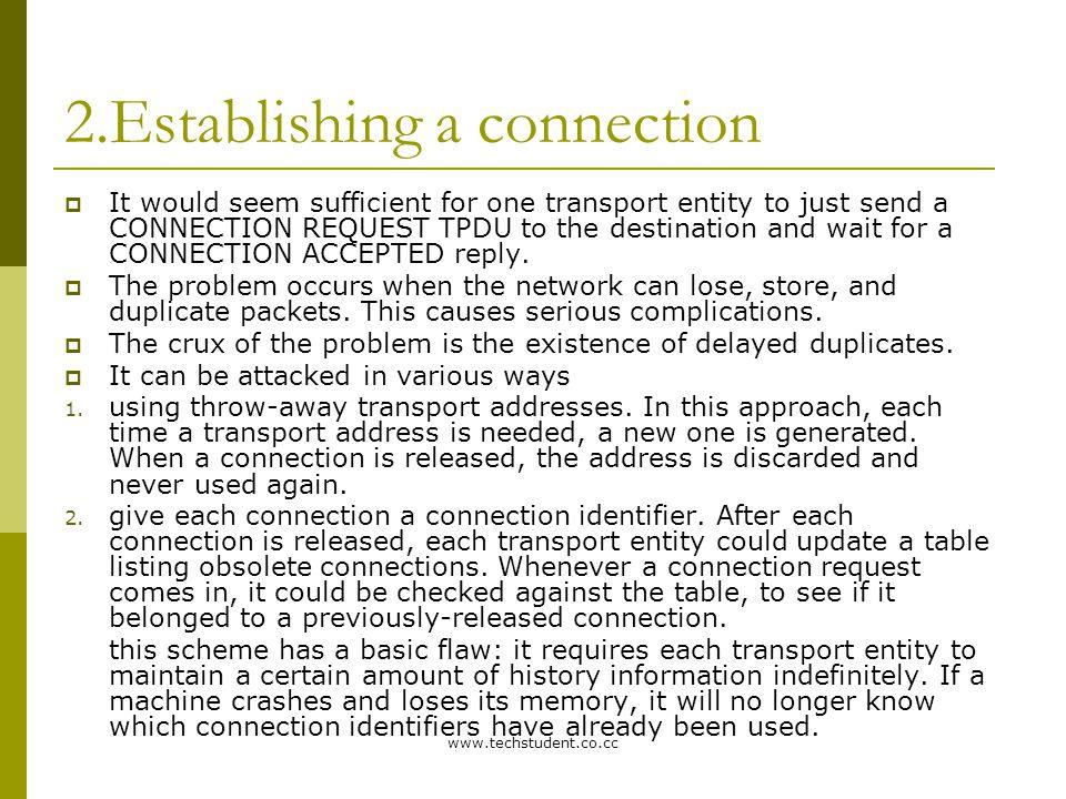 www.techstudent.co.cc Even Parity 0SNSNP 1SNSNP Parity 47-byte Payload 46-byte Payload 48 bytes The AAL 1 CELL FORMAT Non-P P SAR header