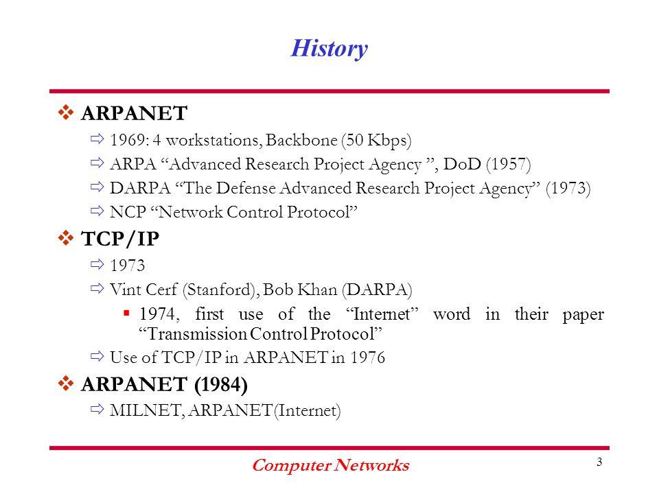 Computer Networks 64 TCP Destination Port Sequence Number Acknowledgement Number Options + Padding Data 32 bits Source Port HLEN Window Urgent PointerChecksum FINFIN SYNSYN RSTRST PSHPSH ACKACK URGURG Reserved