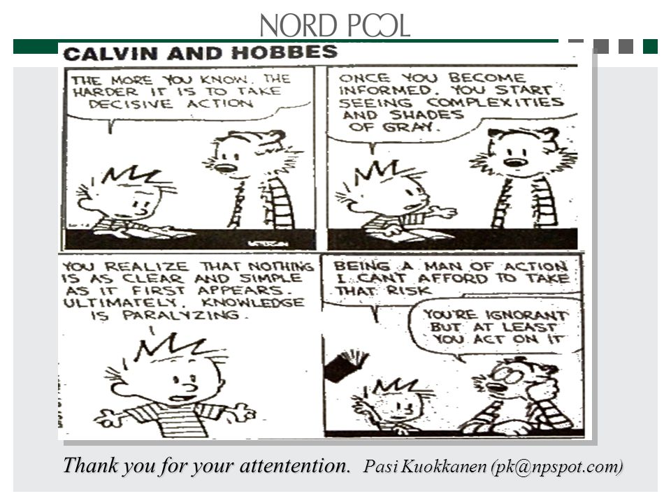 Thank you for your attentention. Pasi Kuokkanen (pk@npspot.com)